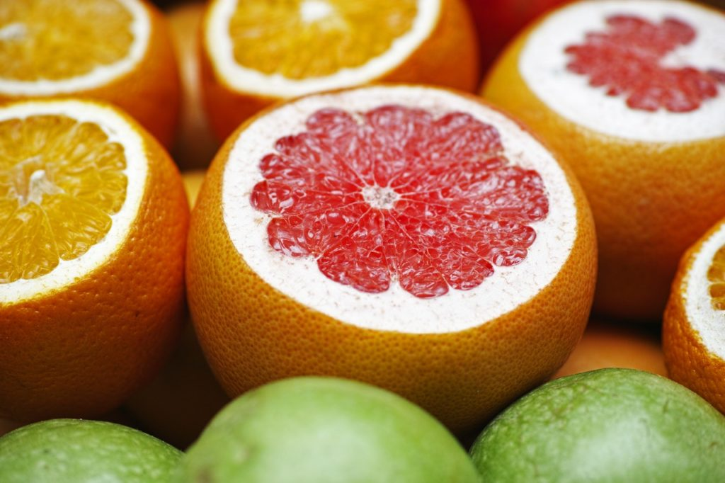 grapefruit burns fat